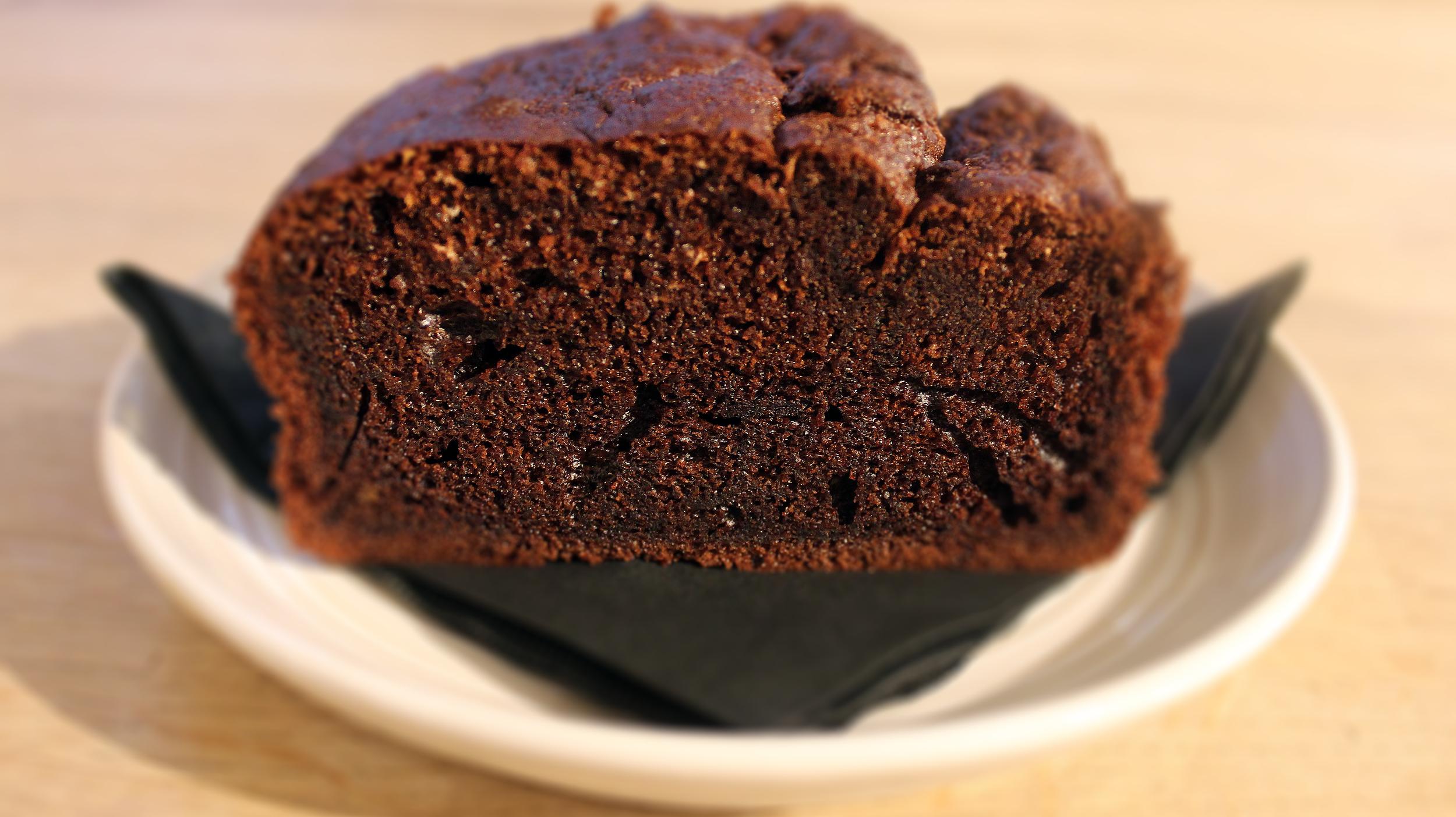chocolate cake £2.20