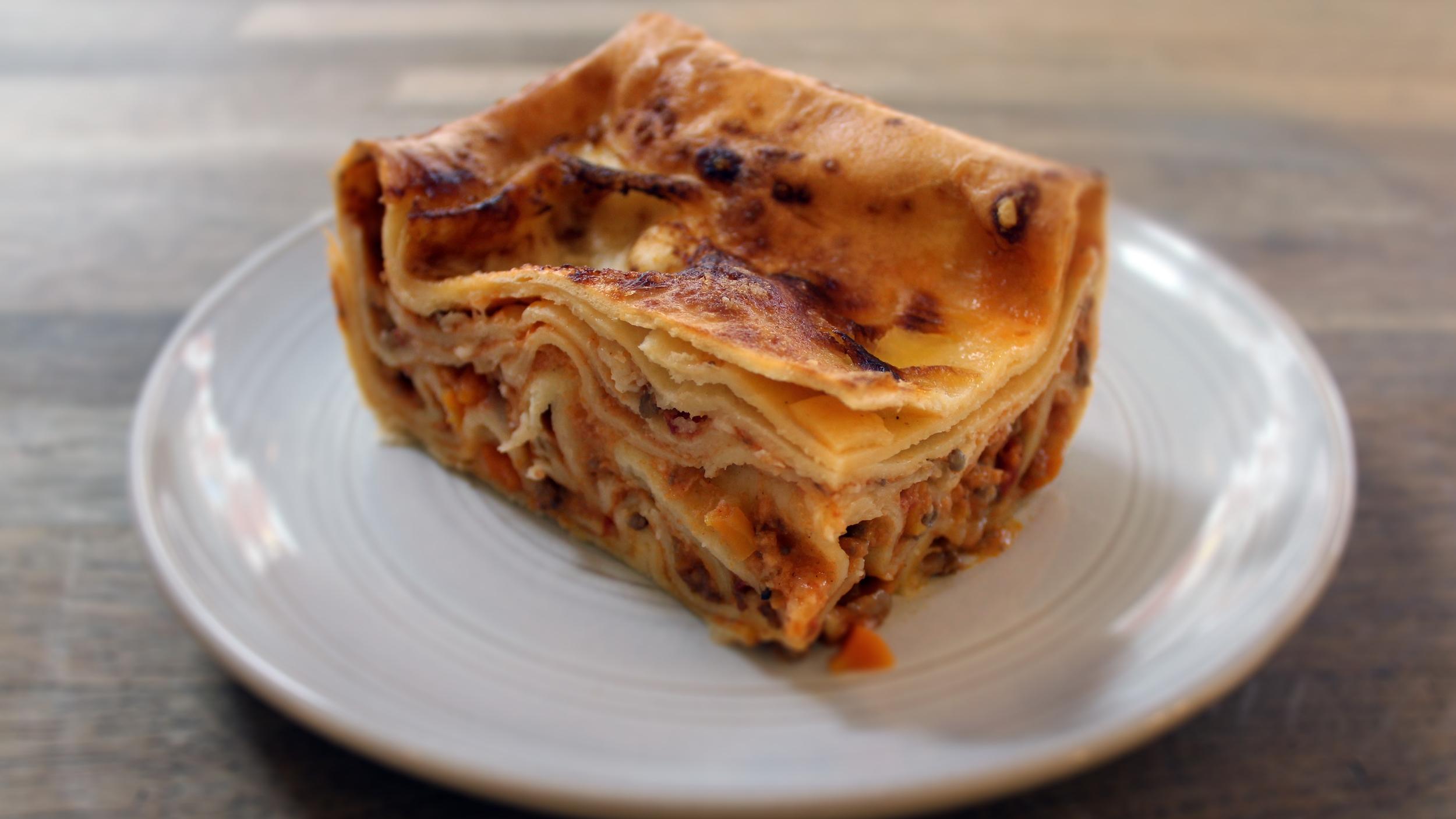 original lasagna £6.00
