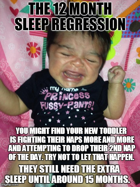 Sleep regression and how to get through it...