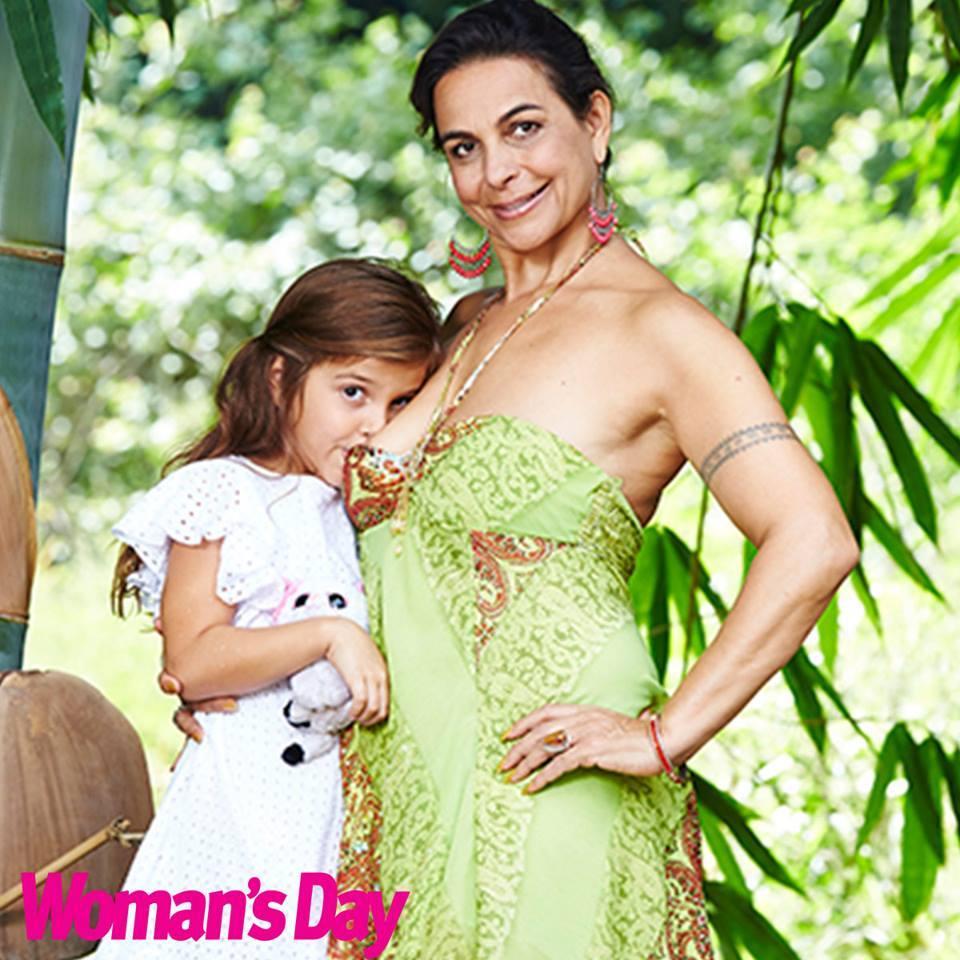 Breastfeeding children moms older Heidi Klum
