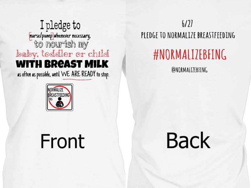 I pledge to support breastfeeding moms