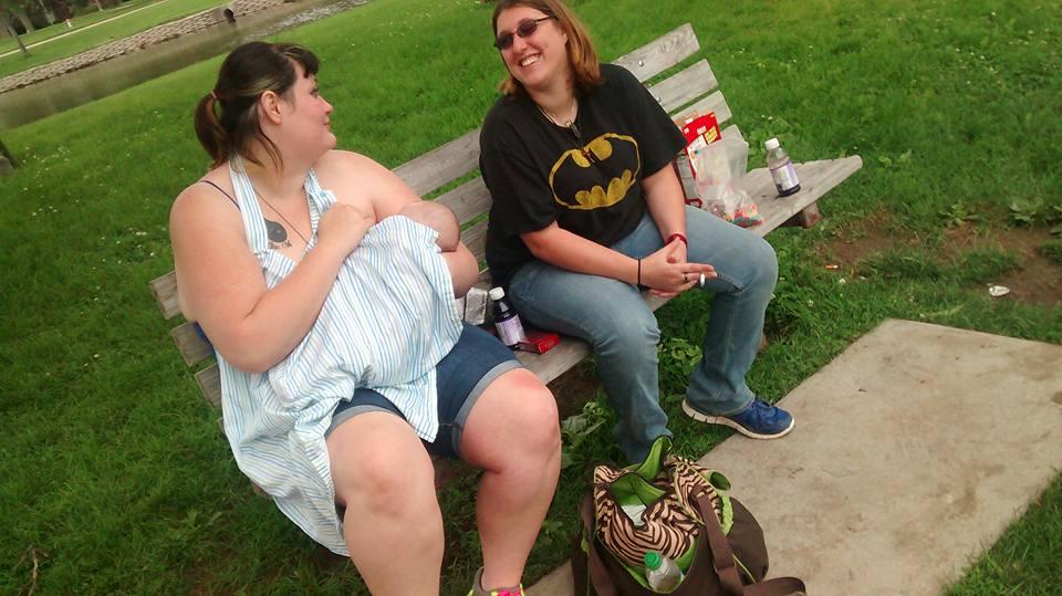 Man Attacks Breastfeeding Mom