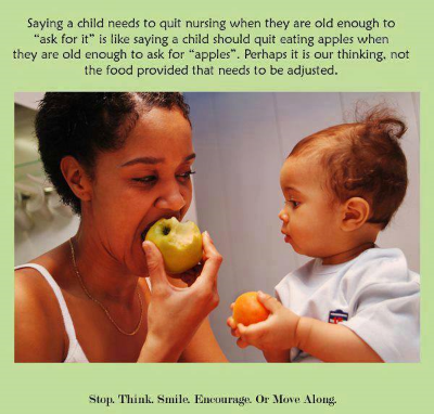 Debunking the arguments against breastfeeding past two