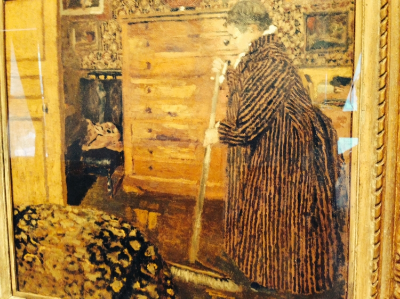 Edouard Vuillard 1940 Woman Sweeping
