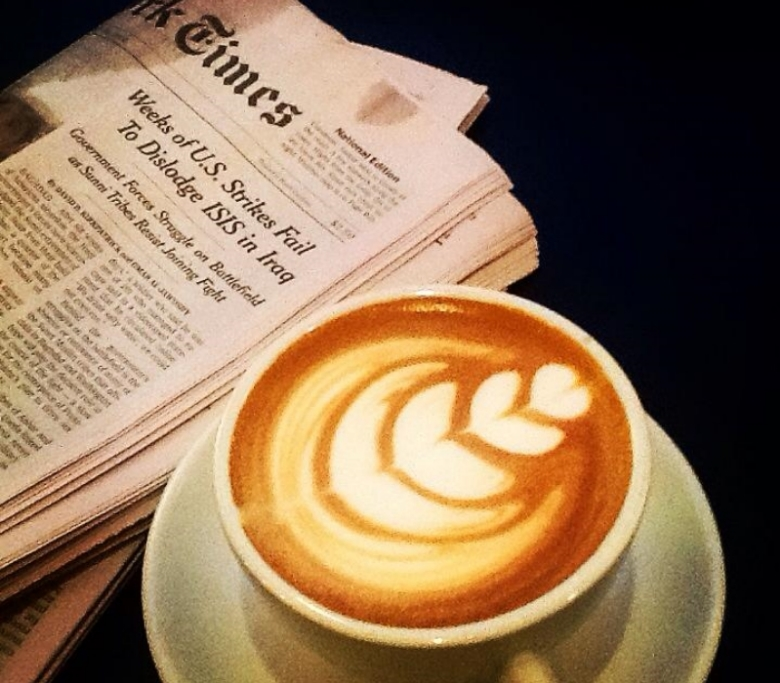 Image courtesy of  Black Tap Coffee