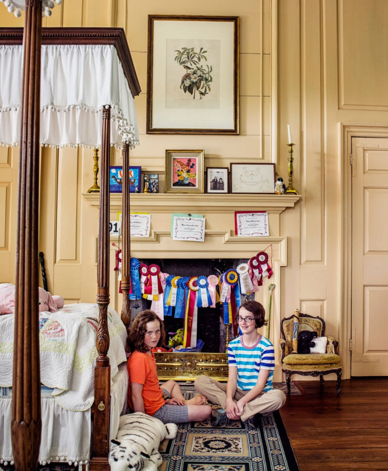 Dean Manigault's Daughters Bedroom