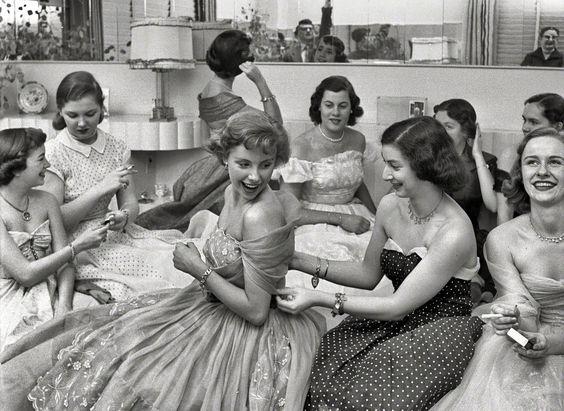"Betsy von Furstenberg and company (""Look"" Magazine, 1950)"