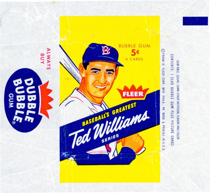 1959 Fleer Ted Williams Uncut Sheet Signed Fifteen Times(2).jpeg