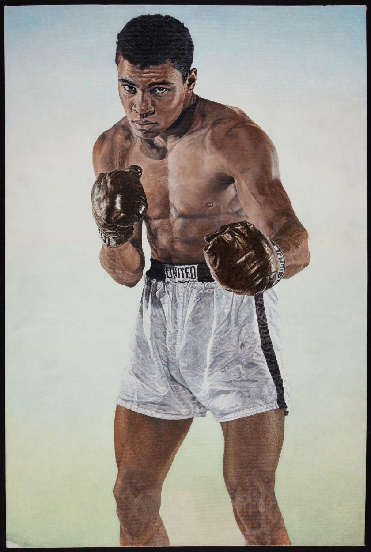 Muhammad Ali Original Painting.