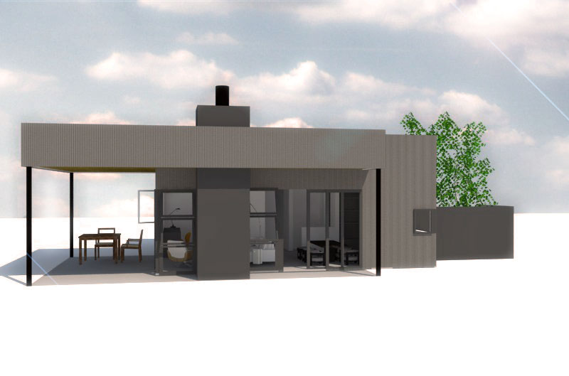 Rendering of 900sf  TANSUCASA