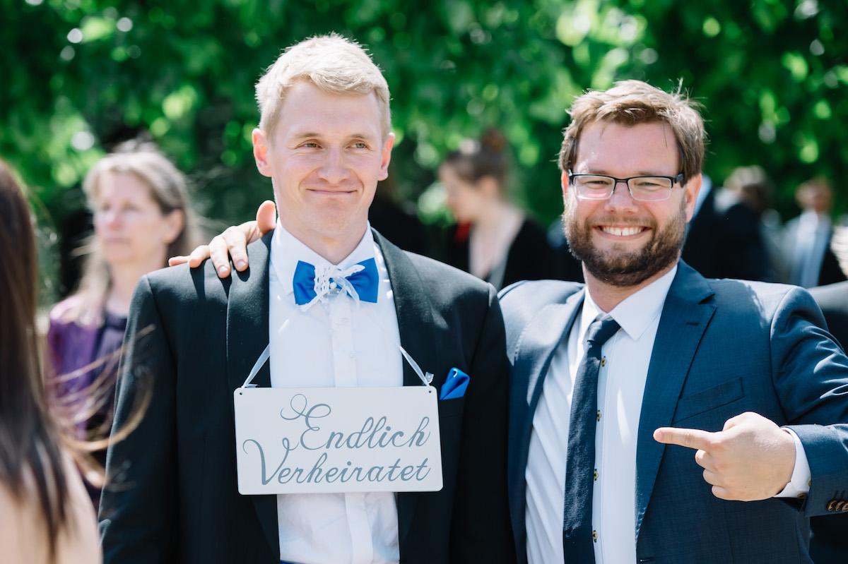 Hochzeitsreportage Ehemann