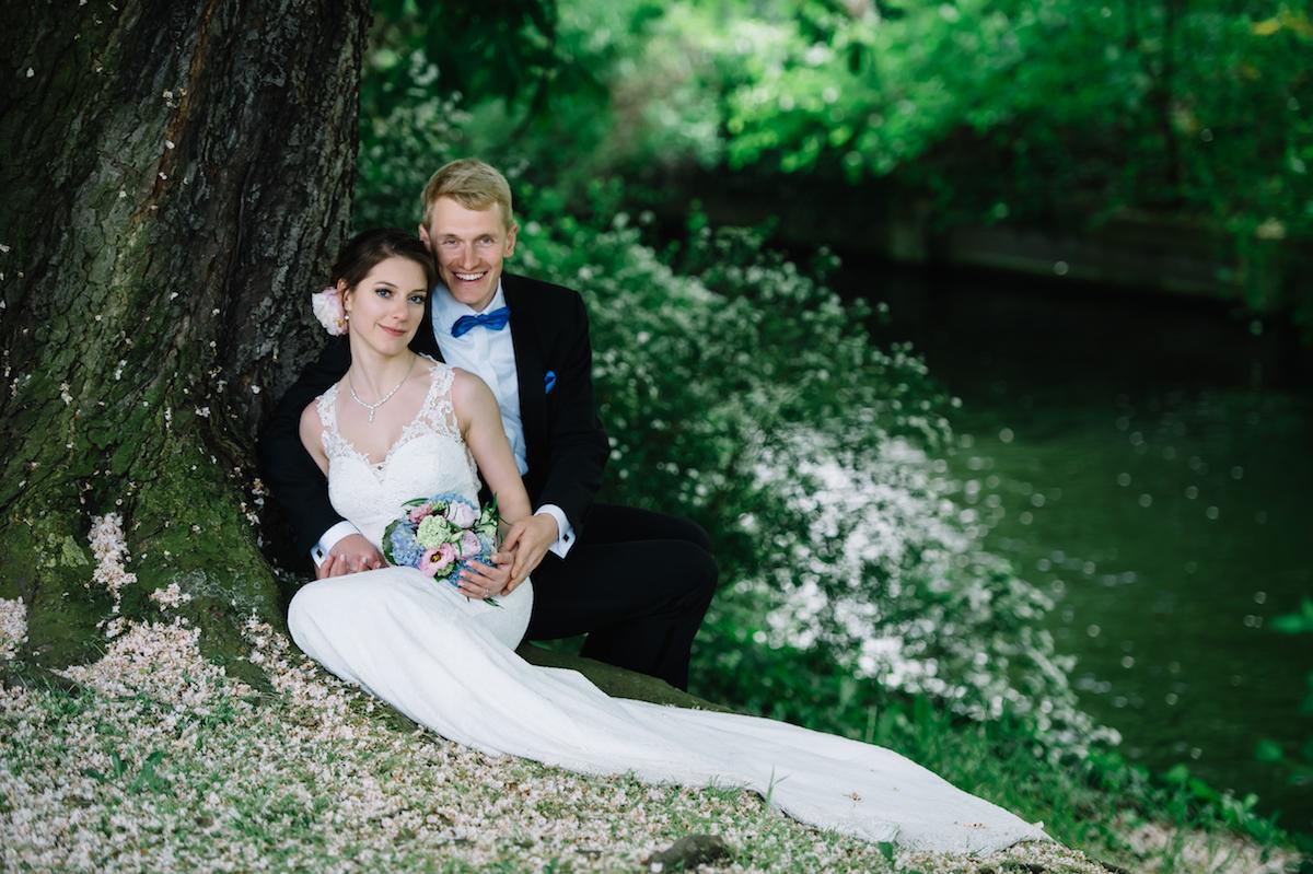 Hochzeitsreportage in der Natur