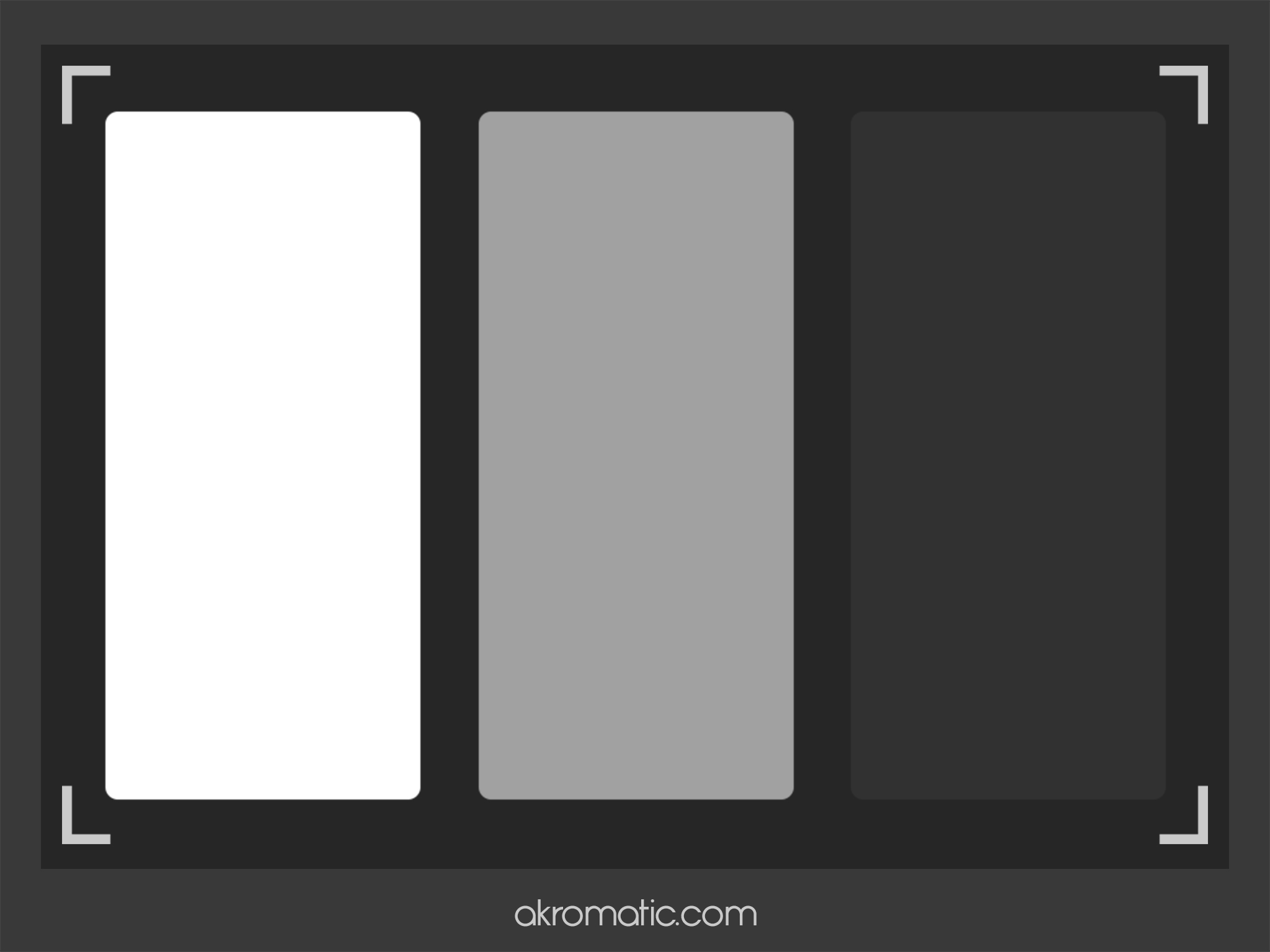 White Balance checker para iPad air.