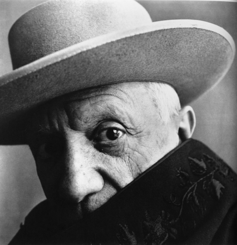 Pablo Picasso by Irving Penn (1957)