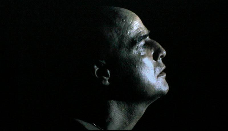 "Marlon brando in ""Apocalypse Now"" by Vittorio Storaro (1979)"