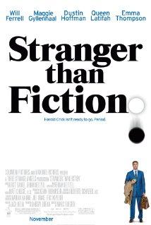 Título: Stranger Than Fiction  Director: Mark Foster  Escritor: Zach Helm  Cinematógrafo: Roberto Schaefer