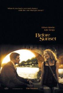 Título: Before Sunset  Director: Richard Linklater  Escritor: Richard Linklater, Kim Krizanm July Delpy  Cinematógrafo: Lee Daniel
