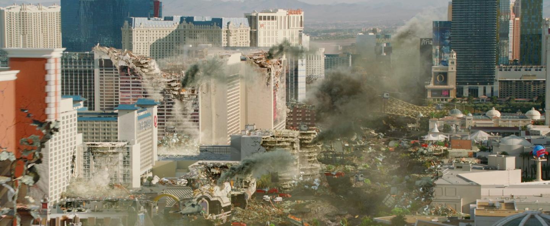 Fotograma final, acción desarrollada en Las Vegas.