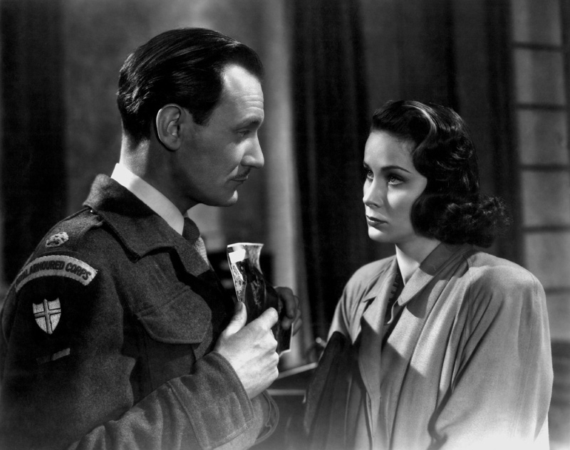 "Trevor Howard and Alida Valli in ""The Third Man"" by Robert Krasker (1949)."