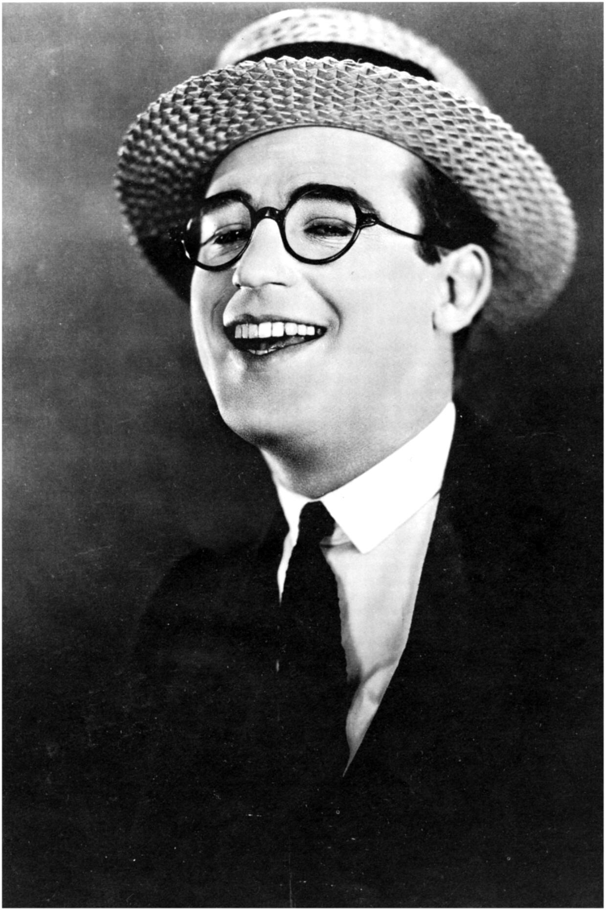 Harold Lloyd.