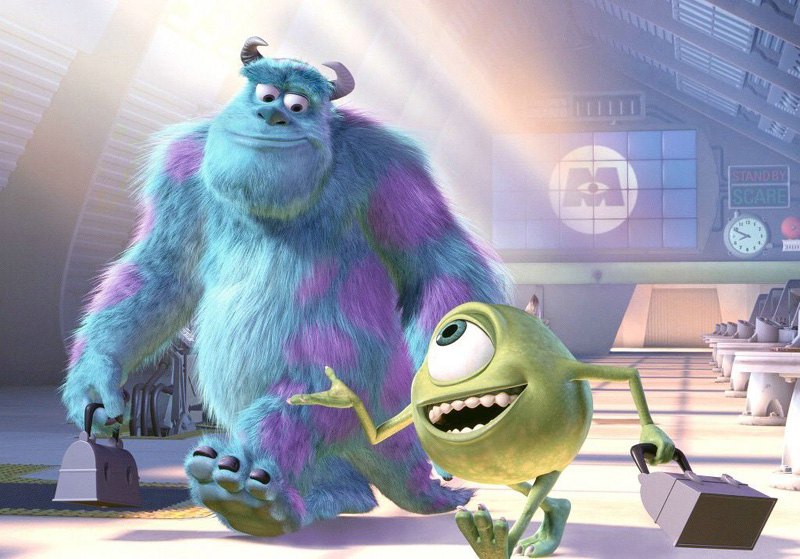 """Monsters Inc."" by Sharon Calahan (2001)."