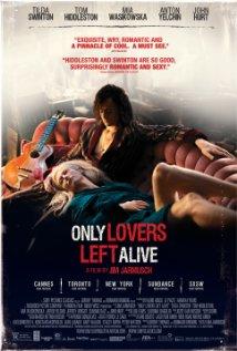 Título:  Only lovers left alive   Director:   Jim Jarmusch  Escritor:   Jim Jarmusch  Cinematógrafo:   Yorick Le Saux
