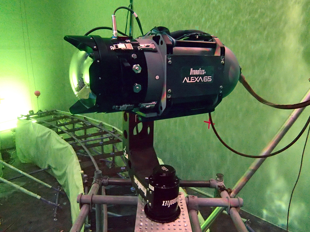 Alexa 65 + HydroFlex en el set de Mission Impossible Rogue Nation.