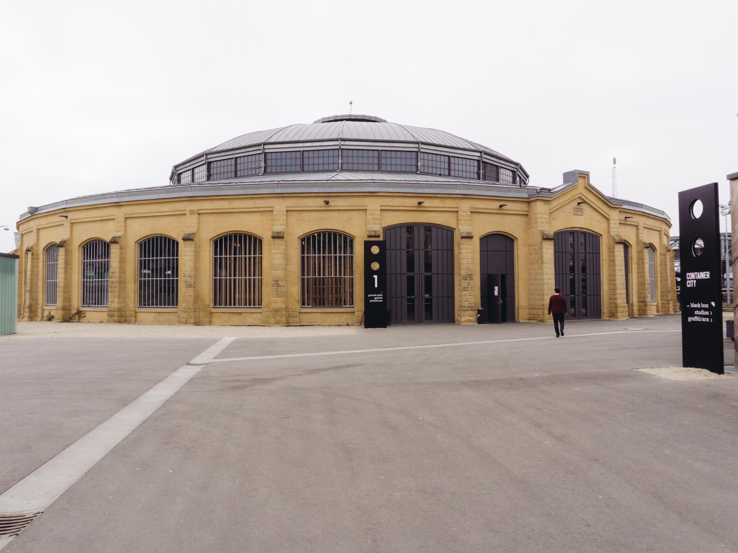 Centre de création artistique les Rotondes , donde realizamos el evento.