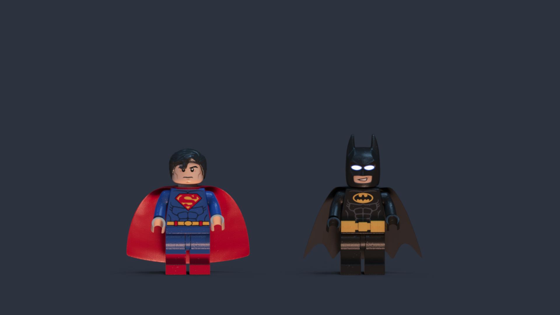 Look-dev de los personajes utilizados en la imagen anterior.
