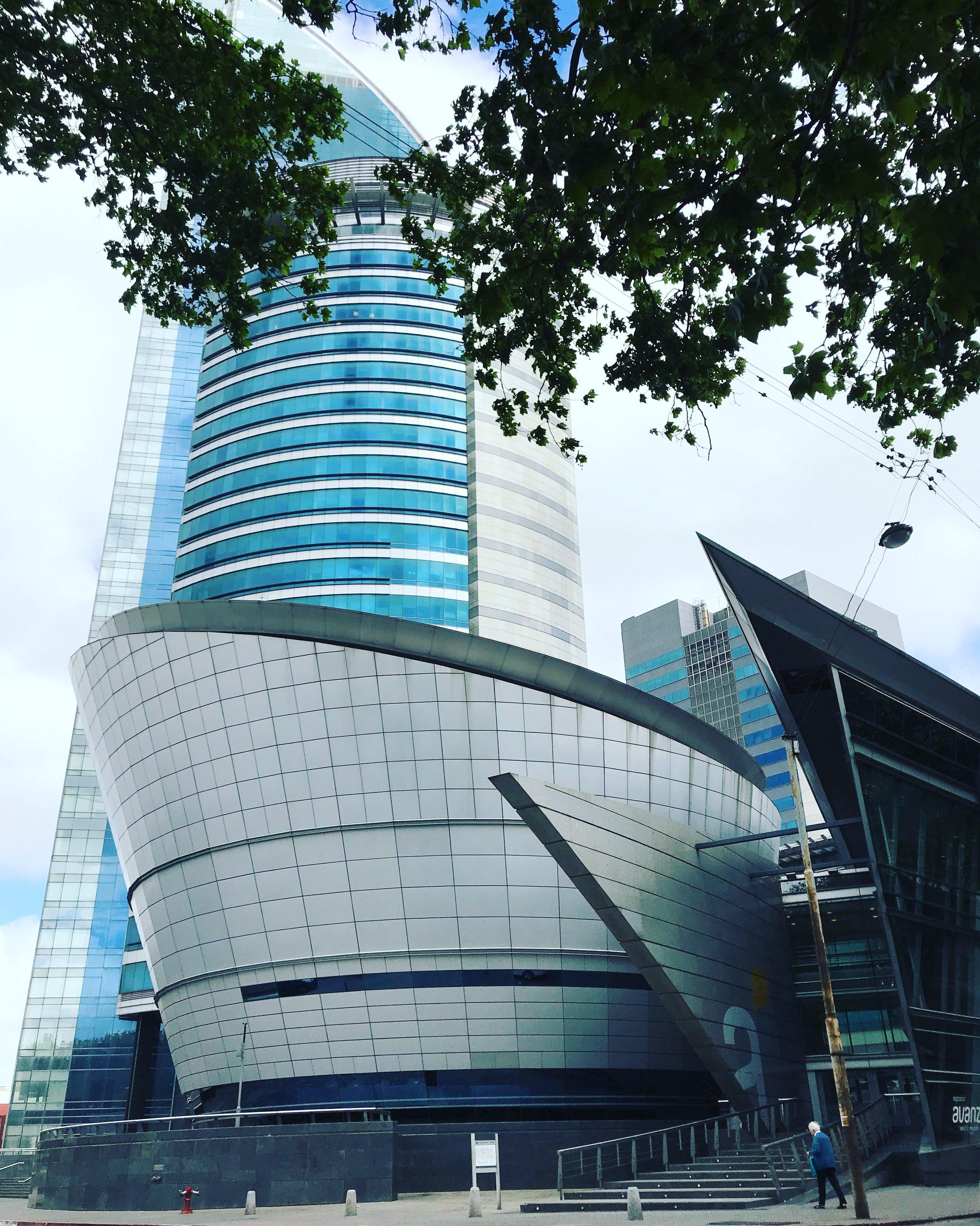 Torre de las comunicaciones de Antel, donde tuvo lugar el evento.