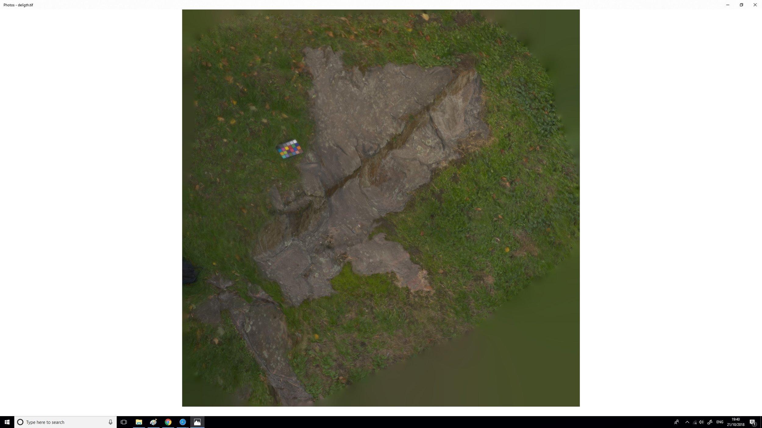 Y para terminar, unos renders de la roca, incluyendo el displacement y un albedo.