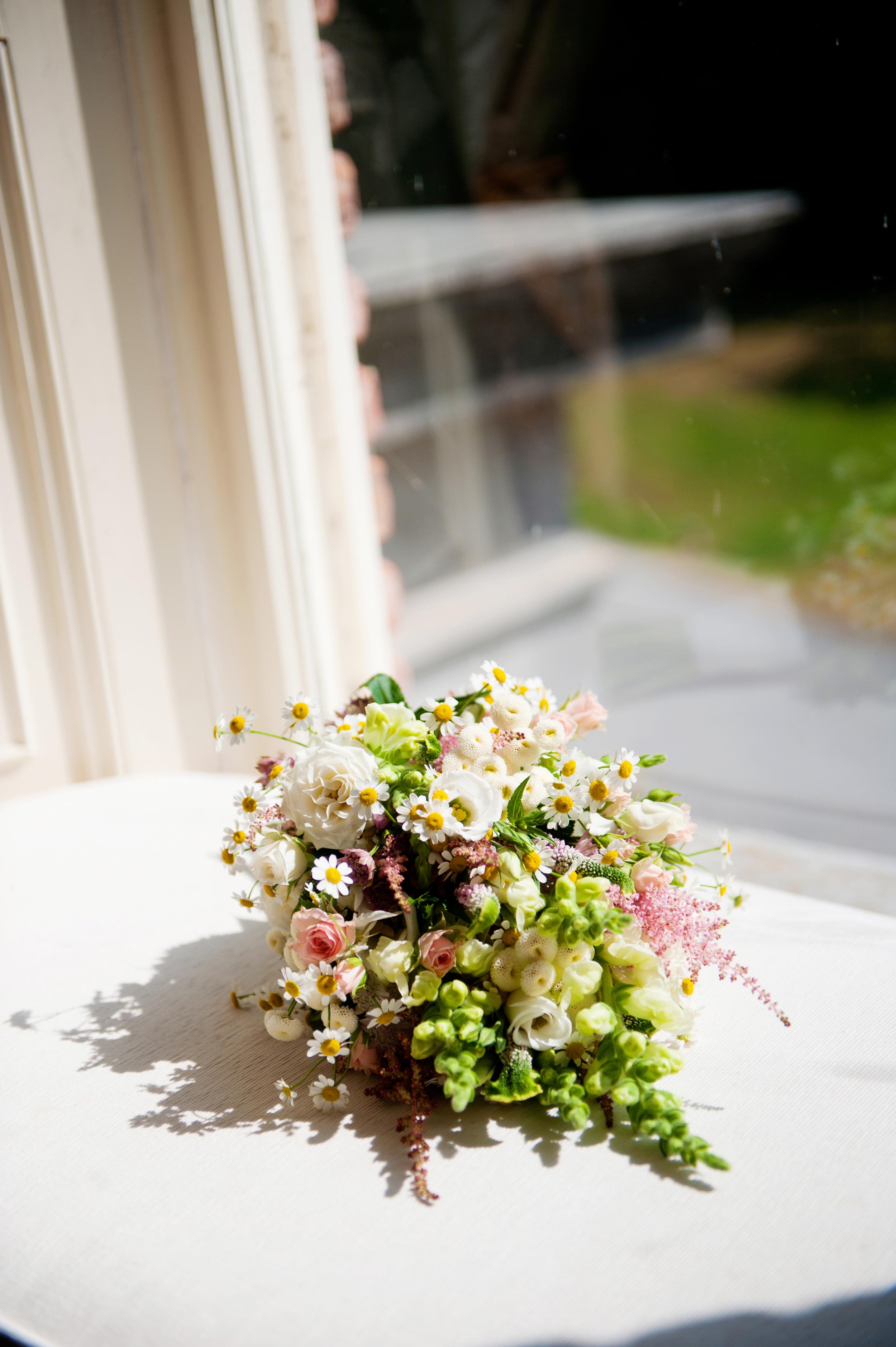 Flowers by Michelle of Cashel Flowers. -Photography:Weddings by KARA  © - Wedding Location: Kilshane House, Tipperary, Ireland