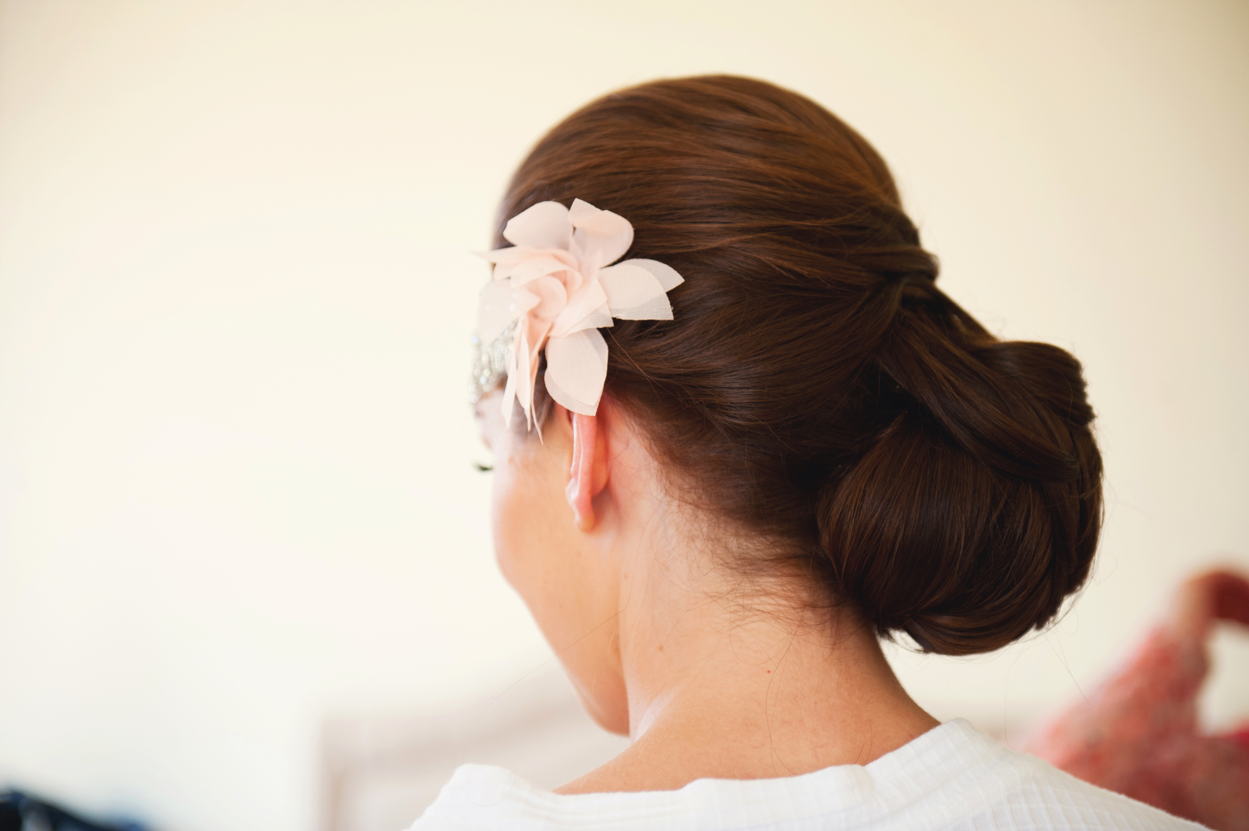Hair by Marie Hickey. - Photography: Weddings by KARA  © - Wedding Location: Kilshane House, Tipperary, Ireland