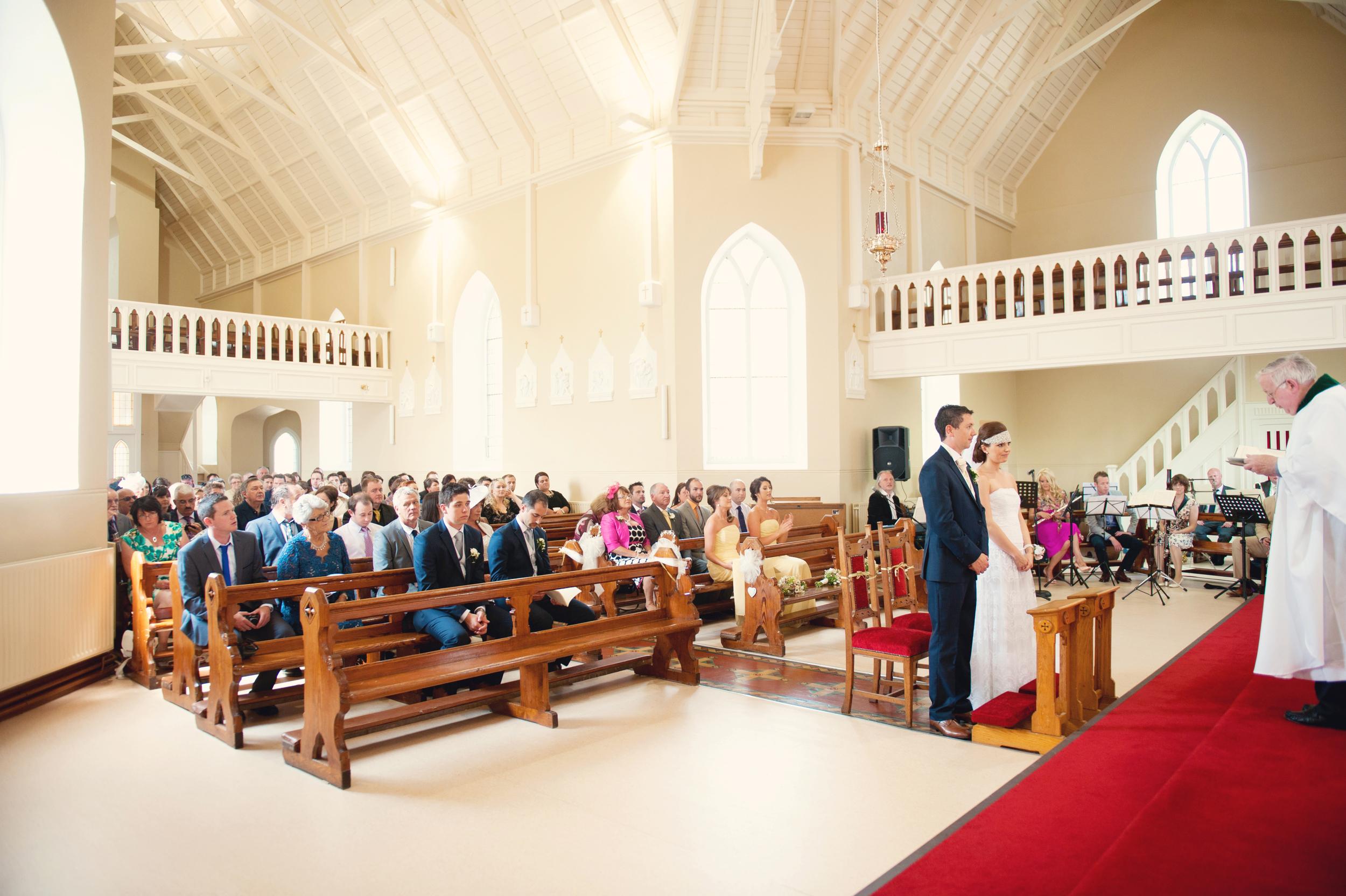 Bansha Church of the Anunciation, Co. Tipperary -  Photography:Weddings by KARA  © - Wedding Location: Kilshane House, Tipperary, Ireland