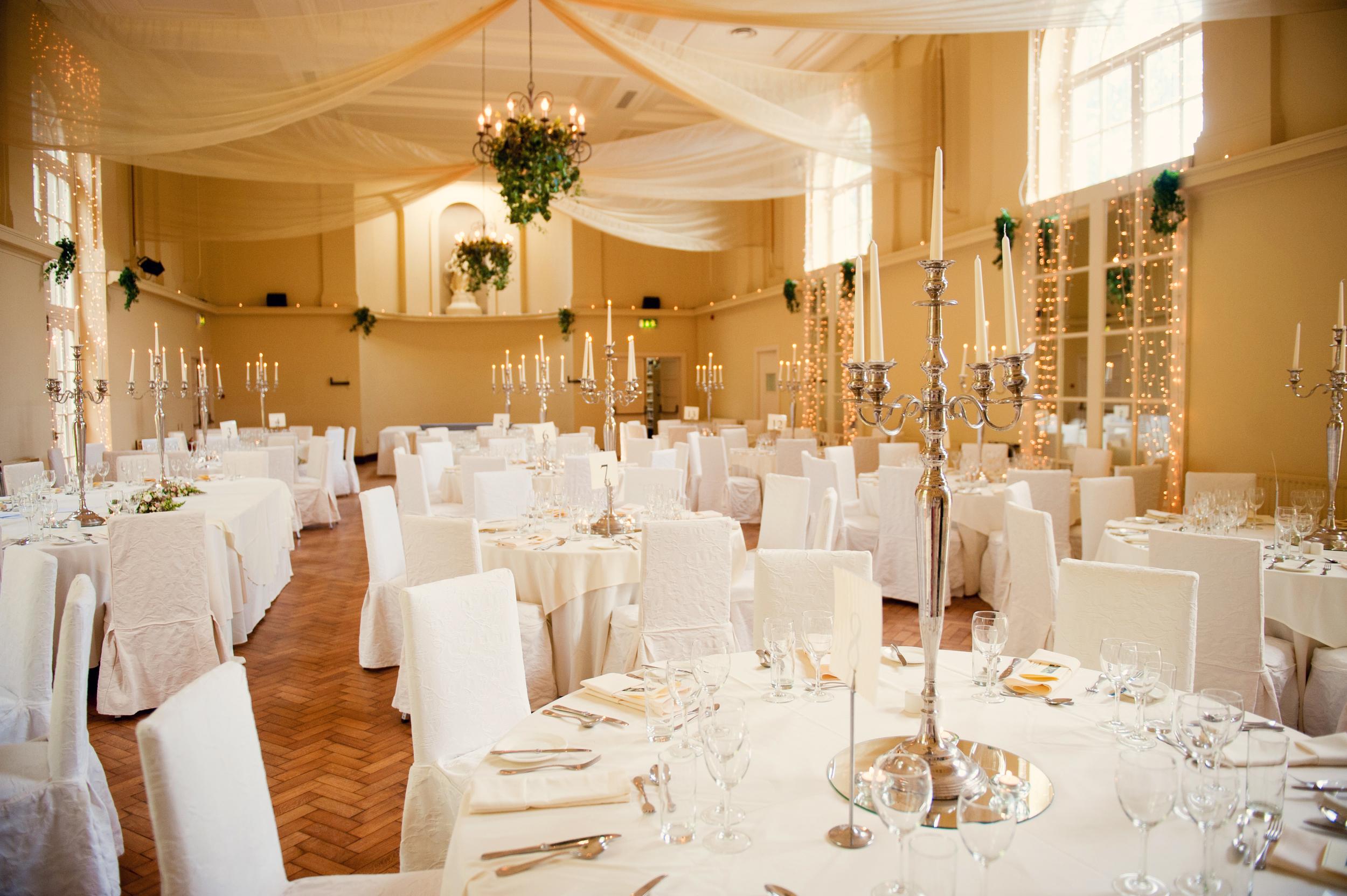 Dining room at Kilshane House - Photography:  Weddings by KARA  © - Wedding Location: Kilshane House, Tipperary, Ireland
