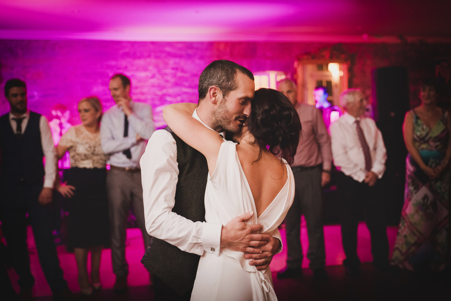 Bride and groom first dance in Tankardstown House Meath Wedding photographers meath ireland