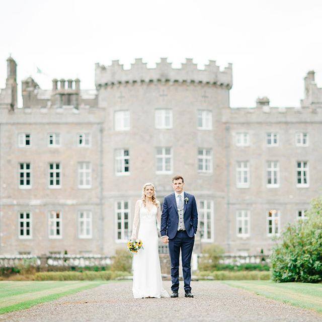 The beautiful @markreecastlesligo with these two stunners 💕 #irishwedding #irishweddingphotographer #weddingstyle #irishcastlewedding #irishcastle #weddingphotography #castlewedding