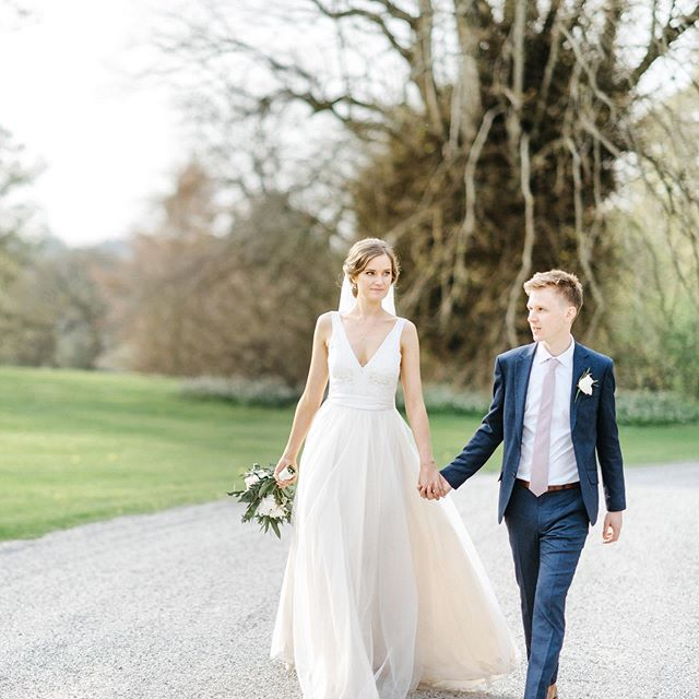 Taking a relaxing stroll around @rathsallaghhouse - what beautiful April light! #irishweddingvenue #irishweddingphotographer #irishweddingphotography #destinationwedding