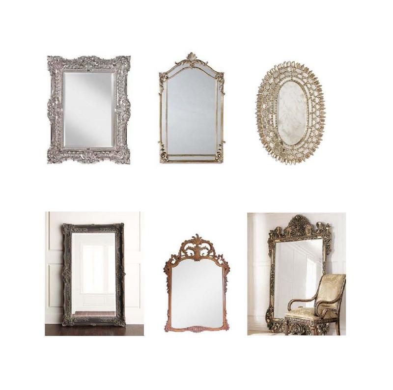 Rosemary Mirror,  Nancy Mirror ,  Worlds Away Carmelita ,   Floor Mirror    French , I talian Hand-Carved Mirror ,  Frame Floor Mirror