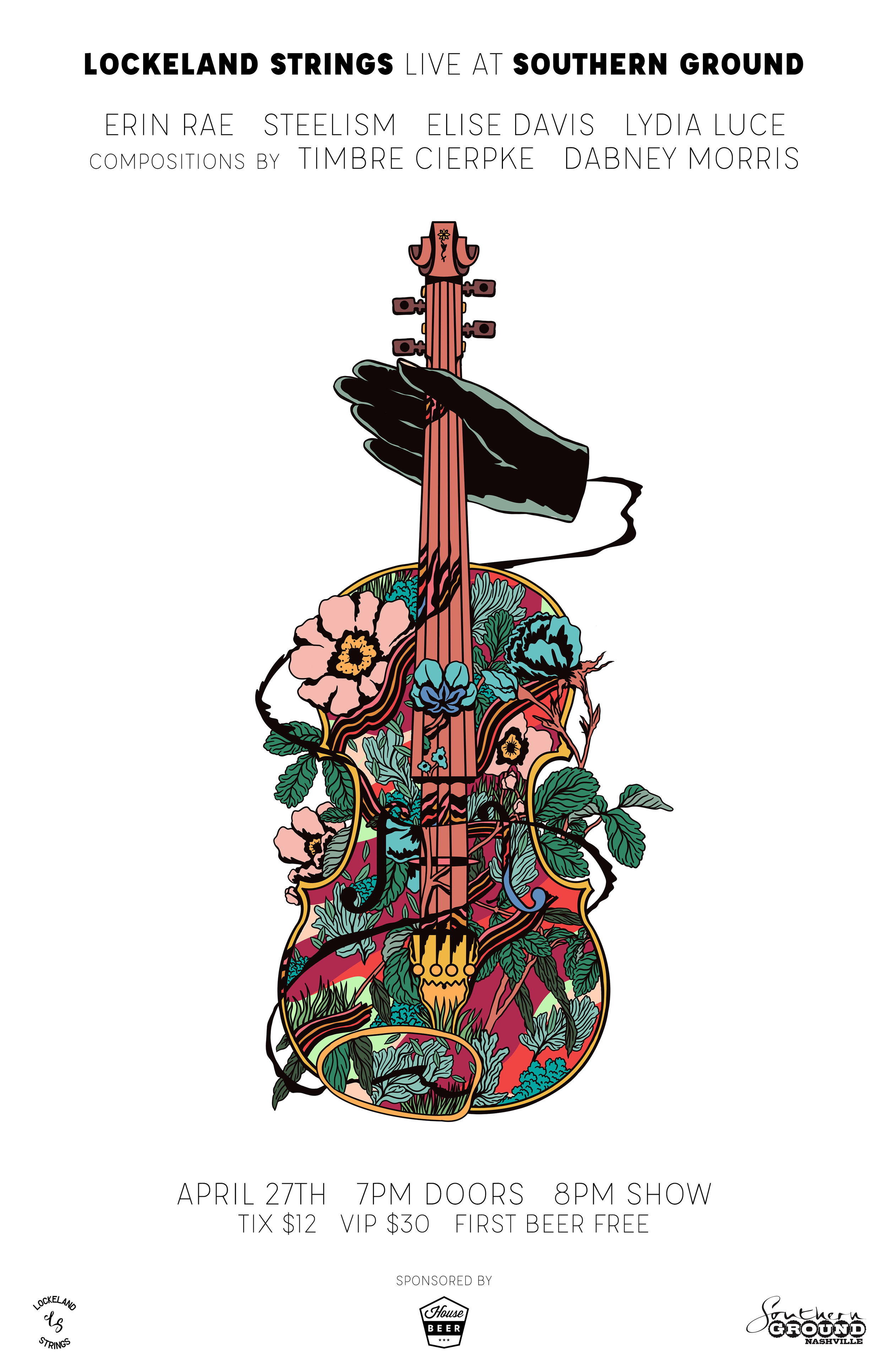 Lockeland Strings Poster