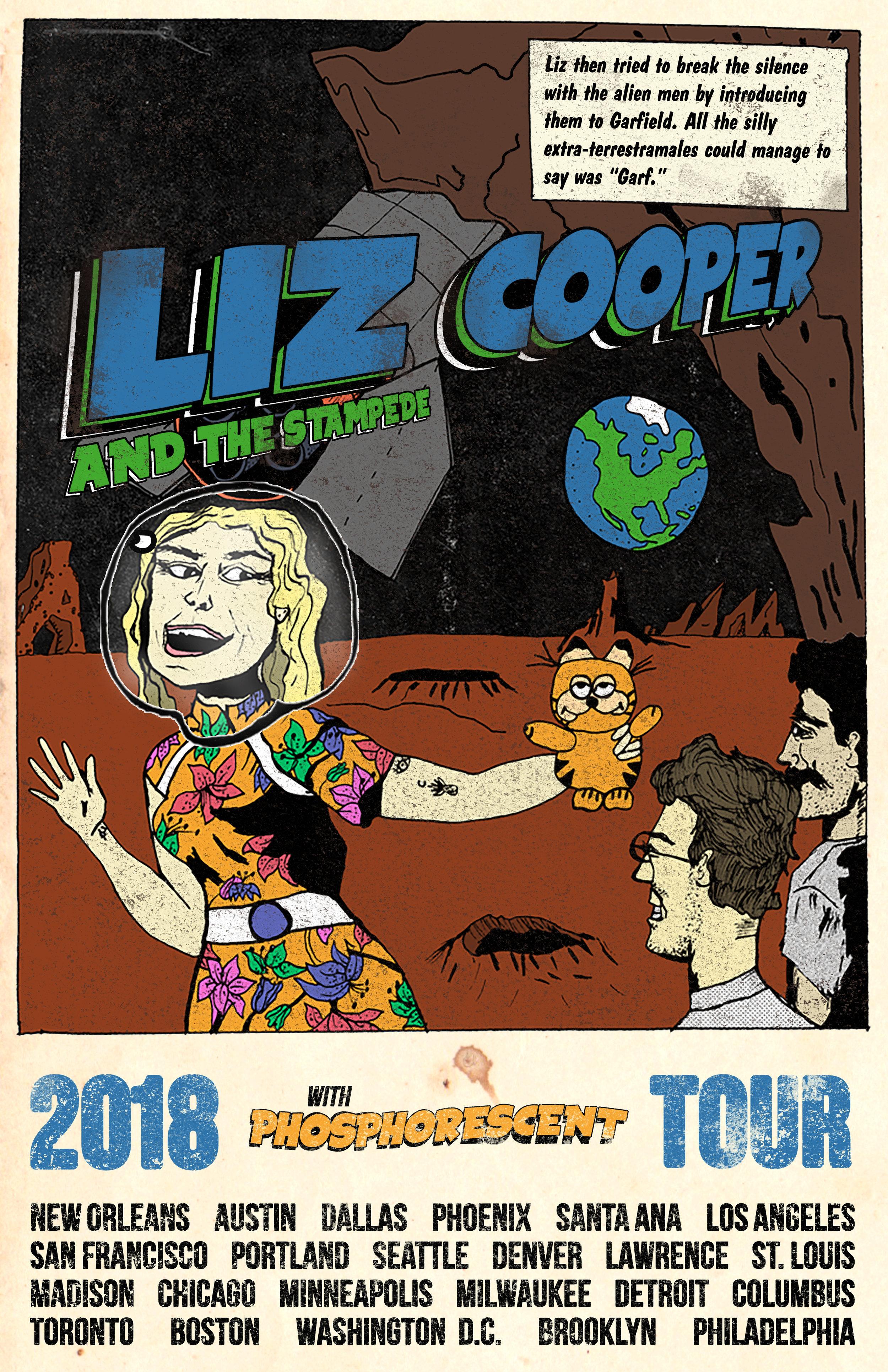 Liz Cooper & The Stampede Poster