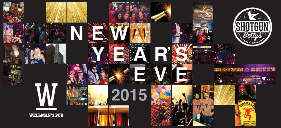 New Year's Eve 2015 Wellman's Pub and Rooftop West Des Moines