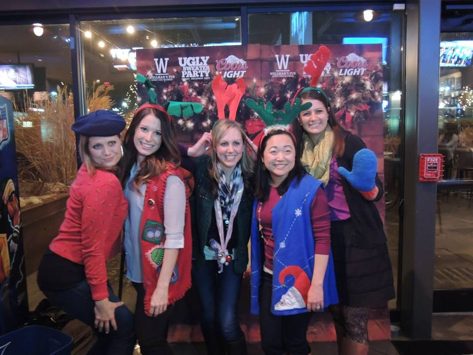 Ugly Sweater Party-- Wellman's Pub and Rooftop