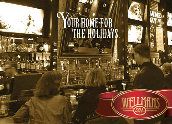 Wellman's Pub and Rooftop West Des Moines Holidays