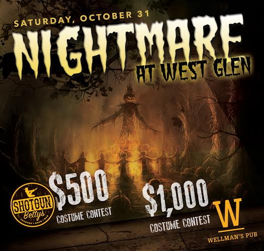 Wellman's Pub and Rooftop Halloween Party