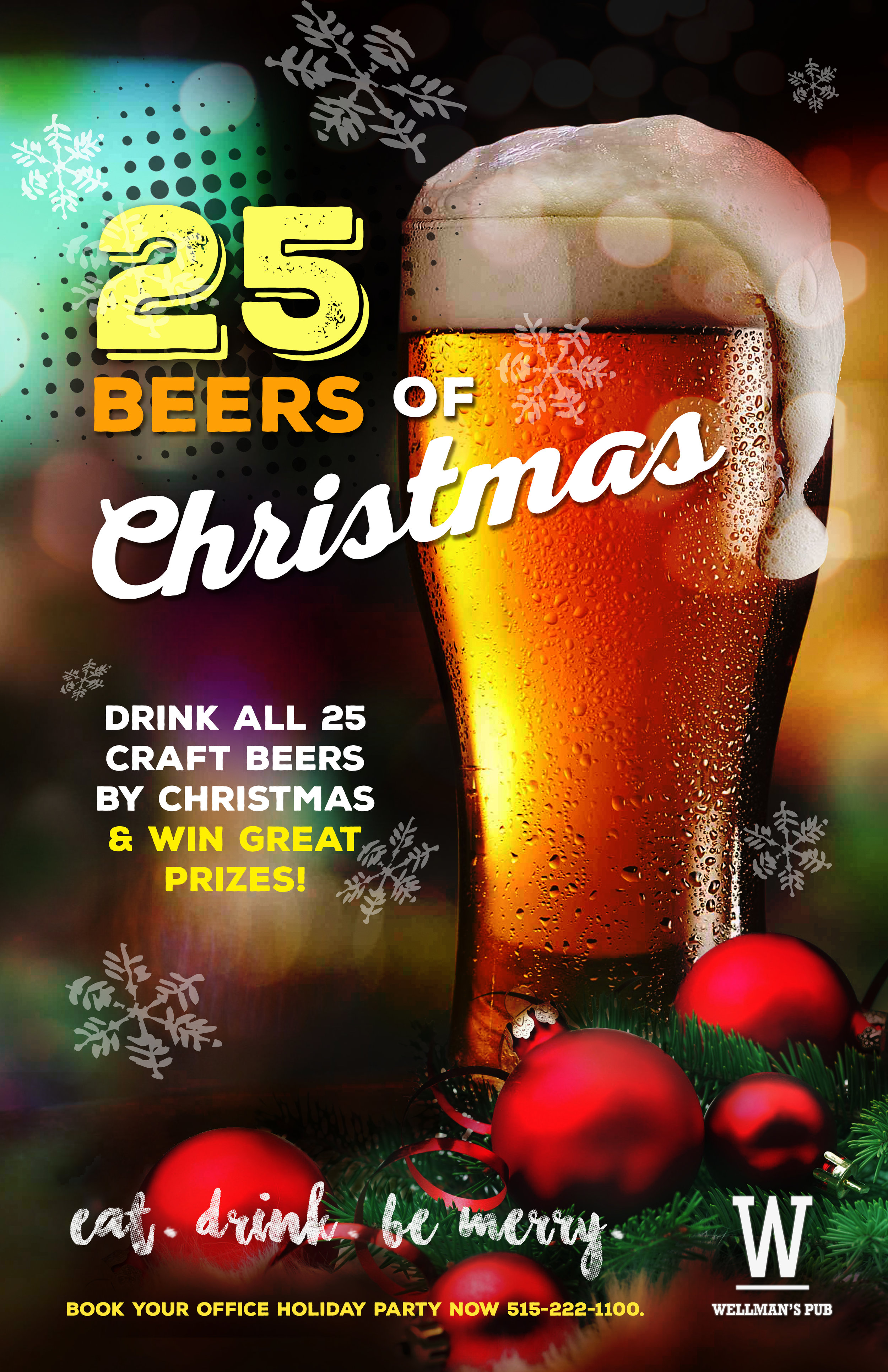 25 Beers of Christmas - Craft Beer Promotion in West Des Moines