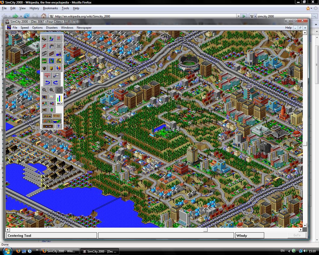 Sim City 2000 Screen Shot