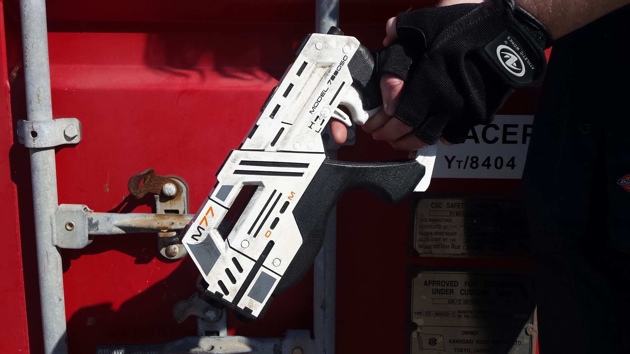 Painted and Finished Cosplay Mass Effect Carnifex Pistol