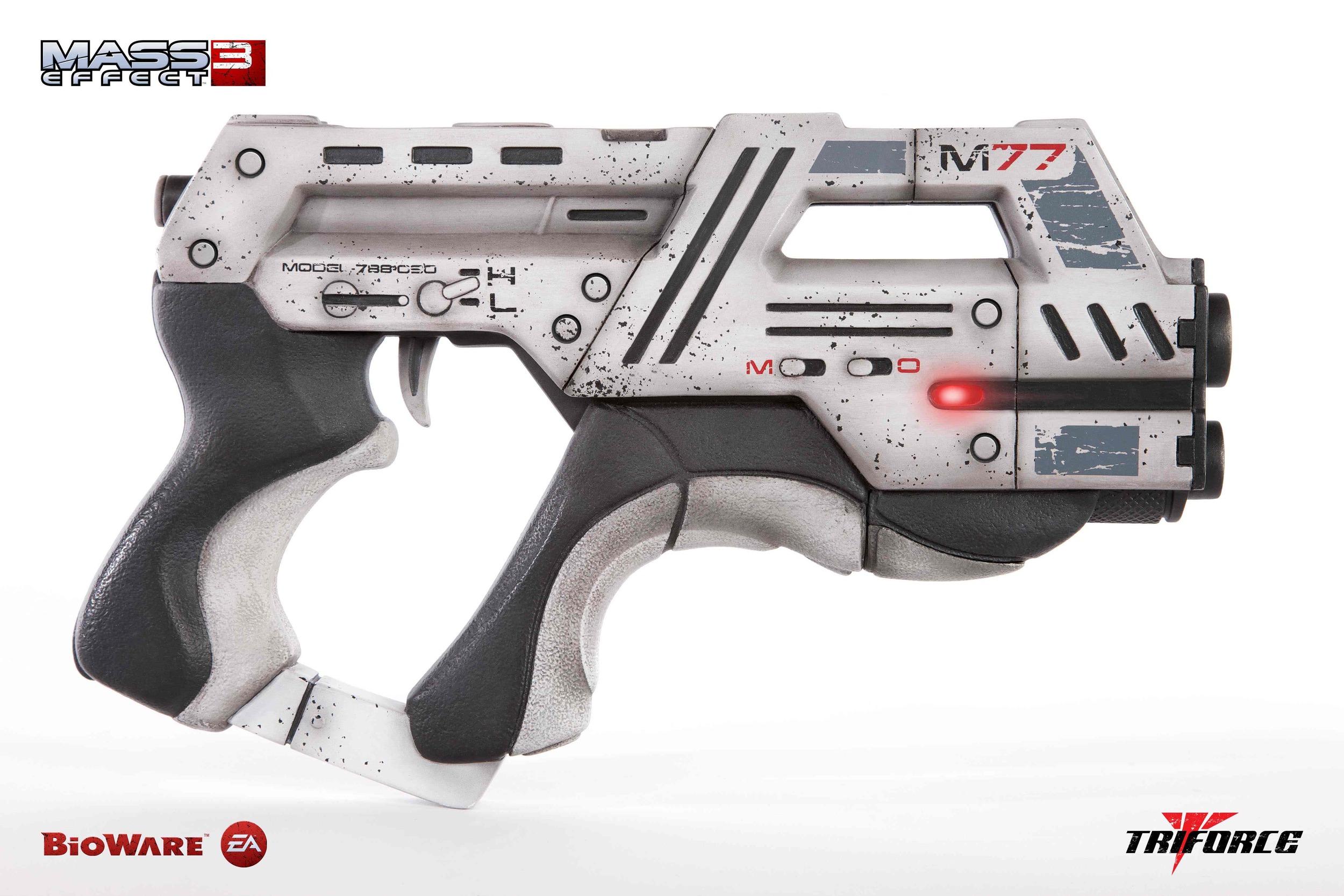 Mass Effect Carnifex Pistol Concept Art From Mass Effect 3