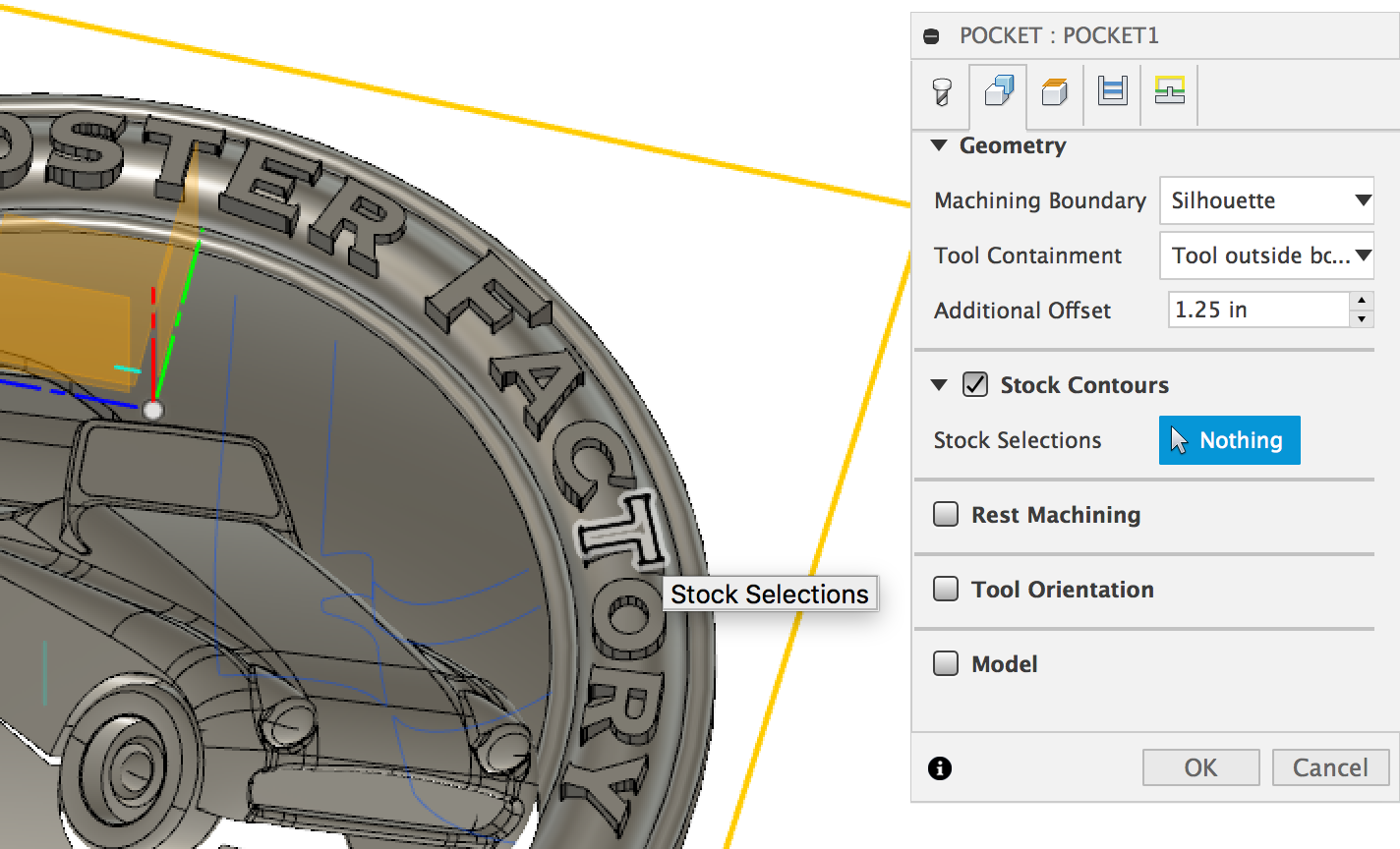 Machining Boundery Setting in Autodesk Fusion 360